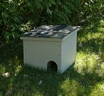 Feralvilla Outdoor Cat shelter